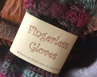 Fingerless Gloves Wrist Warmers