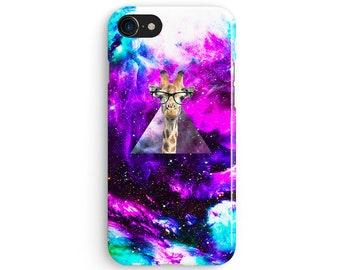 Giraffe Space - iPhone 7 case, Samsung galaxy S8 case iPhone 6 iphone 7 plus samsung galaxy S7 iphone SE 1P170