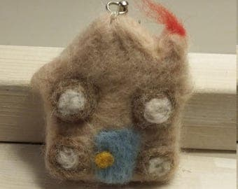 Felted house