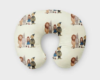 Nursing Pillow Cover Wizard of Oz. Nursing Pillow Cover. Wizard of Oz Boppy Cover. Baby Bedding. Nursing Pillow Cover.