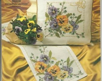 Bouquet Pillow Cross Stitch Chart