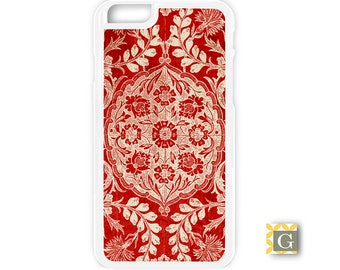 Galaxy S8 Case, S8 Plus Case, Galaxy S7 Case, Galaxy S7 Edge Case, Galaxy Note 5 Case, Galaxy S6 Case - Vintage Red