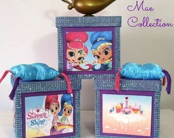 Shimmer And Shine Theme Center Piece For A Birthday Party Or Room Decor Made To Order