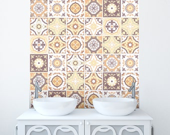 Traditional Tile Stickers Transfers for Kitchen, Bathroom and Furniture DIY 150mm x 150mm