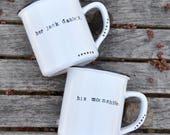 His and hers mugs wedding gift mr and mrs mugs set couples mugs wedding mugs coffee mugs engagement gift couples gift anniversary gift