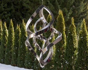 "Wind spinner, Double - Bold (50 cm / 19.7"")"