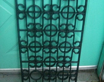CLEARANCE SALE over 50% OFF  antique ornate iron gate  iron  window guard  garden fence
