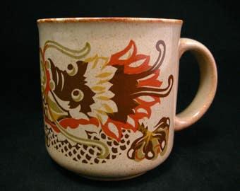 Kiln Craft Ironstone Mug ~ c. 1979 ~ Ironstone ~ Made in England