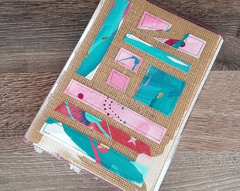 Notebook/Journal Cover #8 Artist Collage
