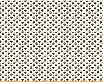 Modern Country by Mary Elizabeth Kinch for Windham, Black and White Tiny Acorn Fabric