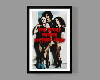 Rocky Horror Picture Show - Dr. Frank-N-Furter Movie Poster Print - Tim Curry Cult Classic