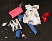 Roar Doll Dress Set for ExraSmall Phoebe