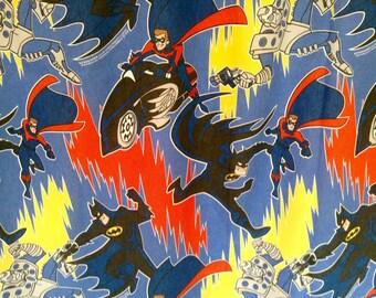 1996 DC Comics Batman Robin Mr Freeze Twin Flat Sheet- very good
