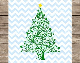 Christmas Tree svg, Christmas svg, svg, svg files, svg designs, Christmas, Christmas cut files, svg christmas tree, svg files for cricut