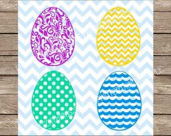 Easter Eggs svg, Easter svg, Easter Bunny svg, Easter Eggs svg, Happy Easter svg, Easter Cut File, svg files cut file svg silhouette cameo