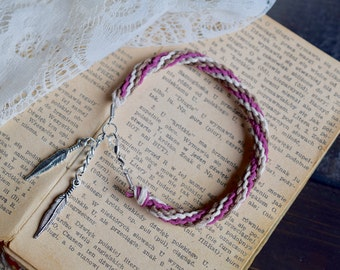 Feather Bracelet. Custom Colours. Hemp Bracelet. Anklet. Hippie. Boho Jewelry. Natural. Eco-Friendly. For Her. Feathers.