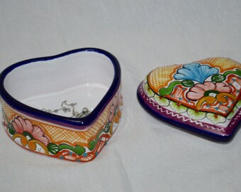 Talavera Jewelry Box