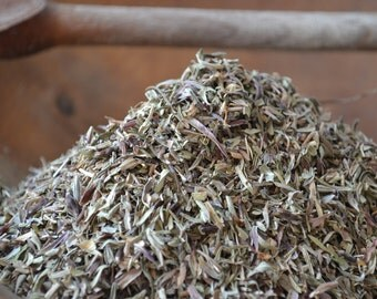 ORGANIC SAVORY herb • Satureja hortensis • Dried • Leaves • Lamiaceae • Non-irradiated • Non-gmo Herbs • Whole Herb • USA Grown • 1oz