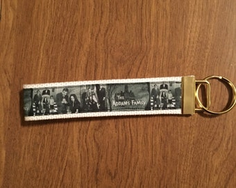 The Addams Family Key Chain Zipper Pull