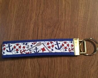 Anchor Key Chain Zipper Pull