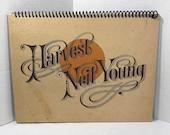 Neil Young Harvest Album Cover Notebook Handmade Journal