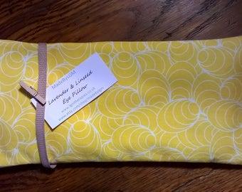 Lavender Eye Pillow (yellow)