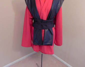 Star Wars Red Sith Robe, Tunic, Obi and Tabbard Costume