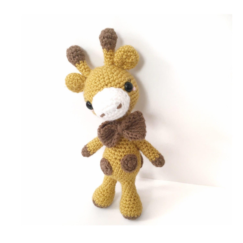 Cuddly Amigurumi Giraffe : Amigurumi Giraffe Plush Crochet Giraffe Doll Crochet Doll