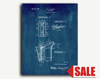 Patent Print - Bee Smoker Patent Wall Art Poster