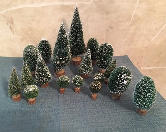 Department 56 Assorted Sisal Trees (18)