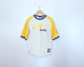 P.Miller shorties baseball Jersey,hip hop, with tags, size large. 90's, 2000, dead stock