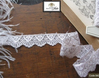 Pale grey lace