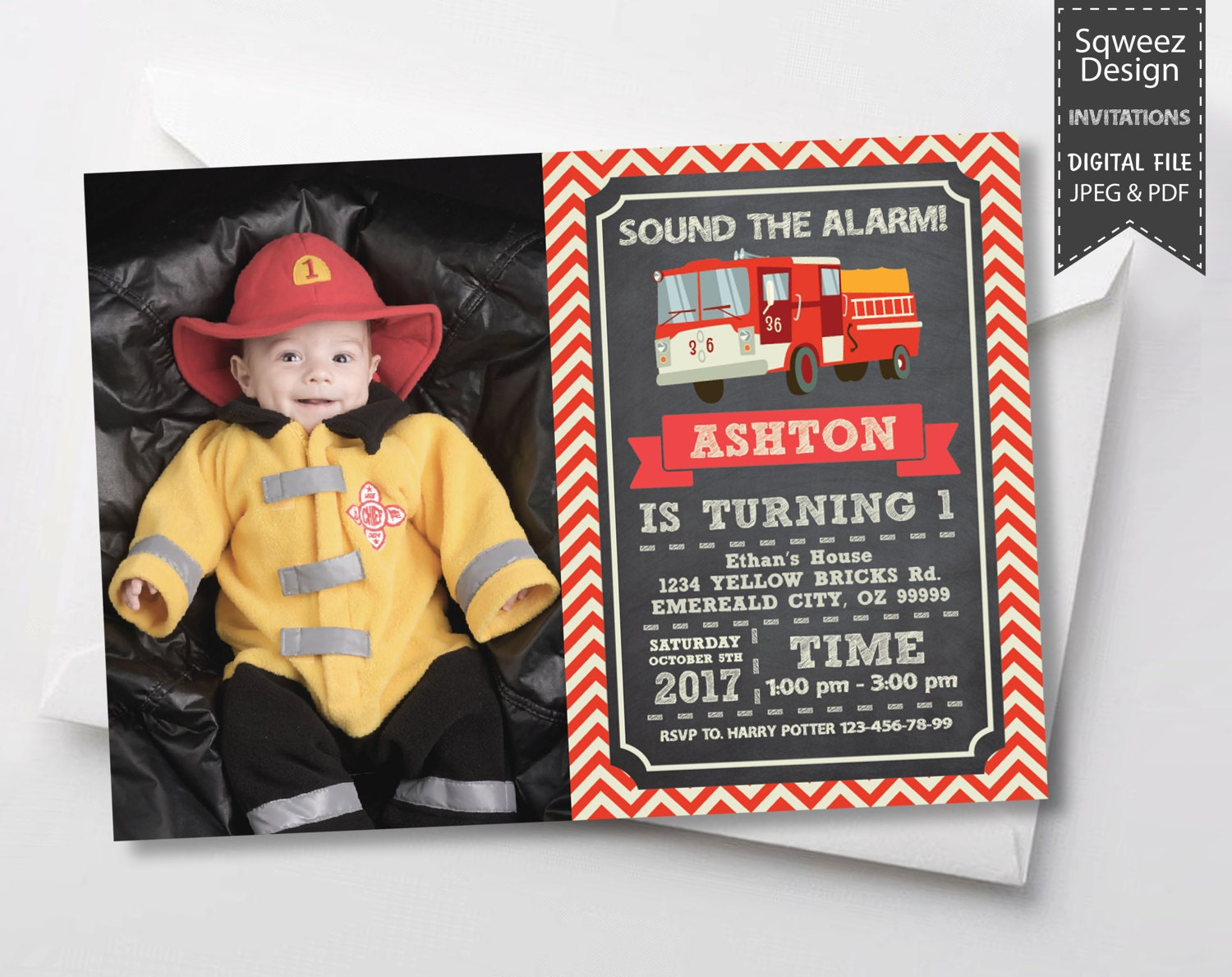 Firetruck invitation firefighter invitation firefighter zoom stopboris Image collections