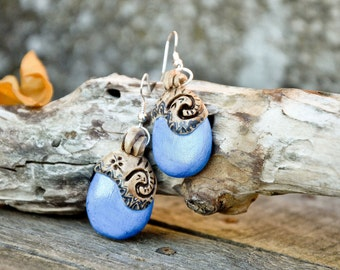 MOANA OCEANIA EARRINGS earrings inspired by the maori style Ocean and boheme