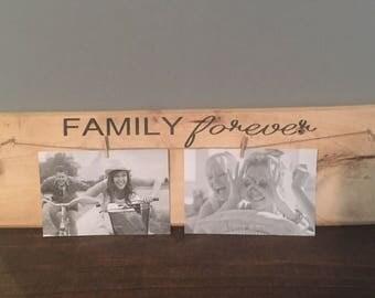 Family Forever Sign