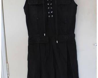 Vintage 1980's Dolce & Gabbana Black Dress