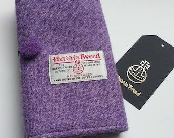 Harris Tweed Crochet Hook Organizer