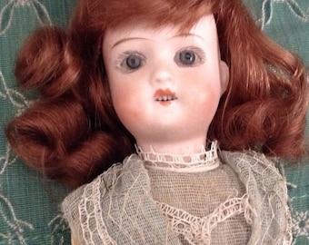 """Antique Heubach 8"""" Doll Look!"""