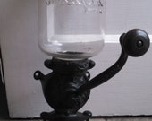 vintage steinfeld no. 11 wall mount coffee grinder