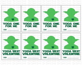 Schön INSTANT DOWNLOAD Yoda One For Me Yoda Best Valentine