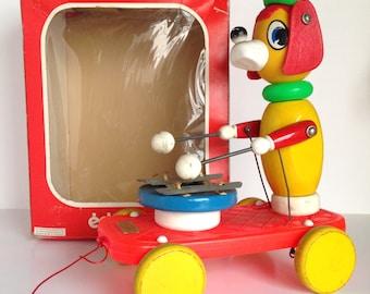 Vintage EDUCALUX Pull Toy