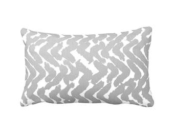 11 Sizes Available: Gray Pillow Cover Decorative Throw Pillow Covers Grey Lumbar Pillows Grey Pillows 12x18 12x20 12x22 12x24 12x16 Cushions
