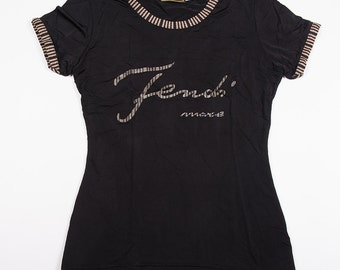 Vintage Fendi Mare Short Sleeved 90s Tshirt
