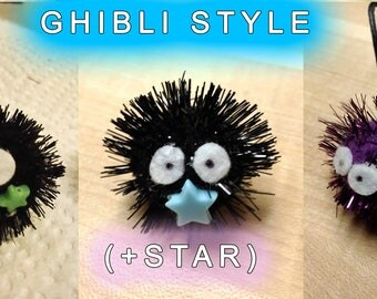 Soot Sprite Keychain: Spirited Away ~Choose Your Style & Color~