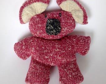 Stuffed koala pink very soft soft