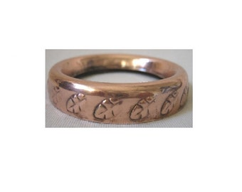 Copper Light Bulb Ring