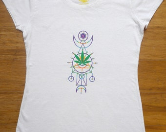 Tribal Pow T-Shirt Hemp & Organic Cotton