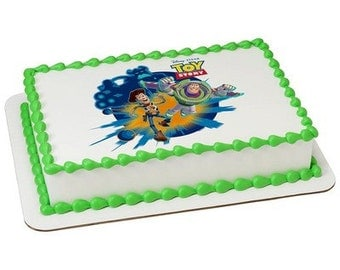 Toy Story Edible Cake or Cupcake Toppers - Choose Your Size