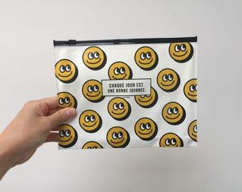 Smiley Emoji Travel Pouch