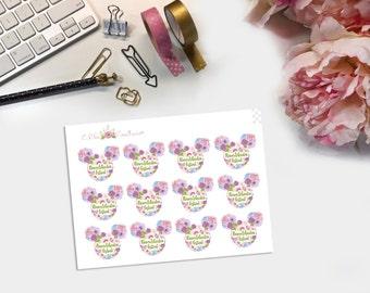 Flower & Garden Festival Planner Stickers